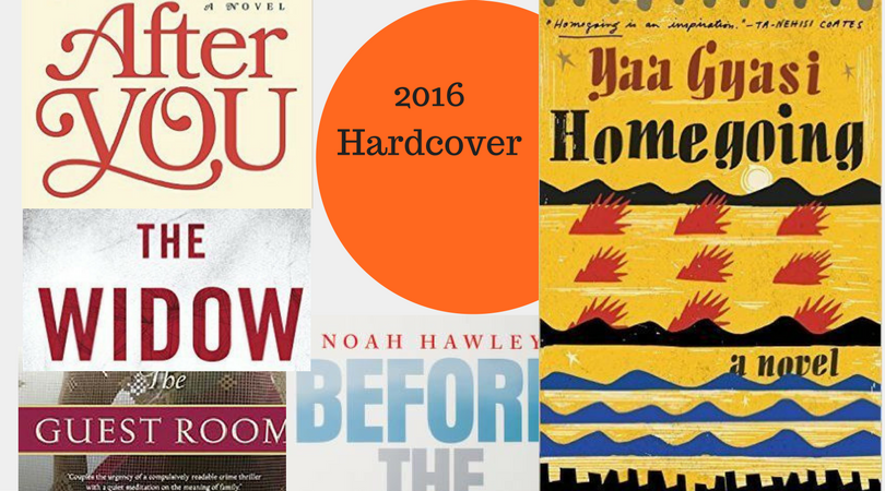 Blog- Best of the Bestsellers - 2016 Hardcover Books