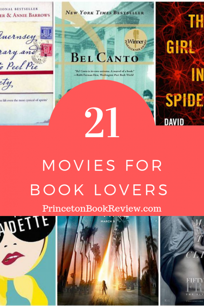 21 movies for book lovers