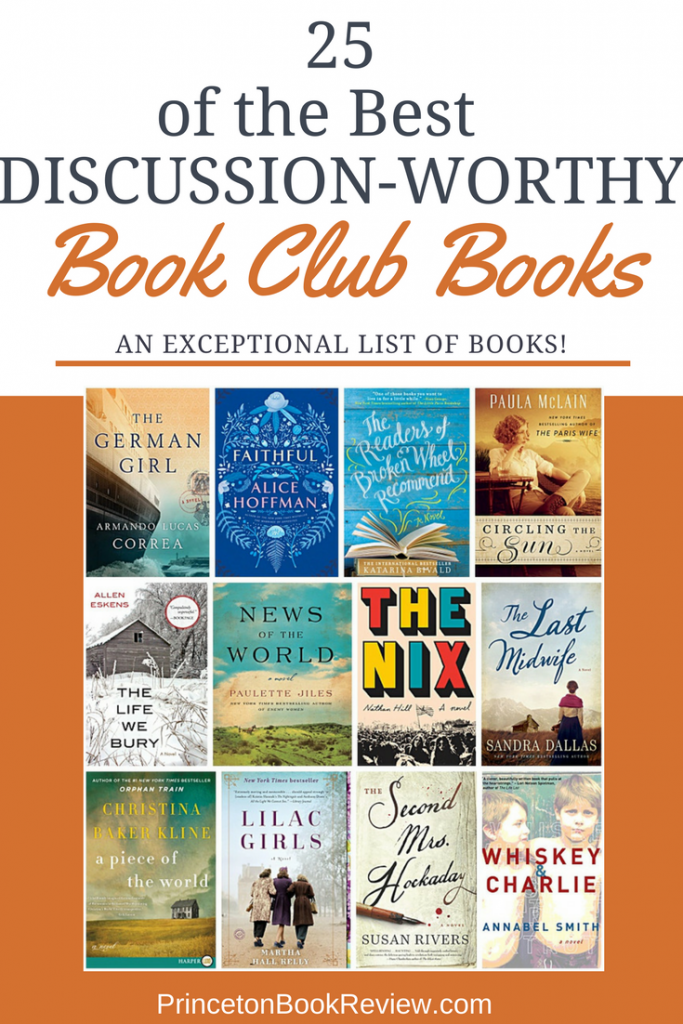 ow to encourage a lively discussion at a Book Club meeting can be a challenge. I mean, besides the wine and cheese, the real purpose of the meeting is to talk about the fantastic book you read.