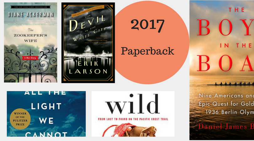 Blog- Best of the Bestsellers - 2017 Paperback Books