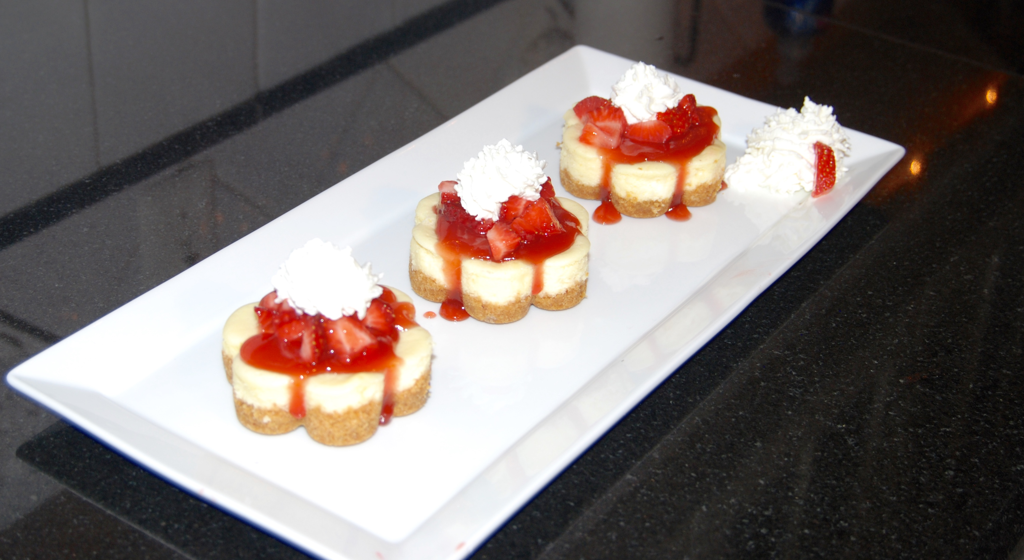 Strawberry Cheesecakes