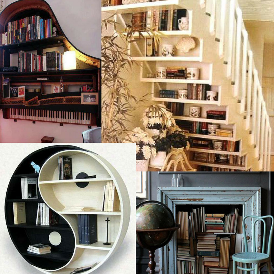 Beautiful Bookcases.