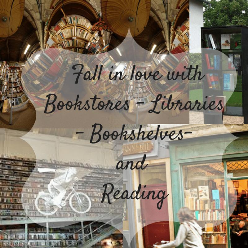 Bookstores, Libraries, Bookshelves