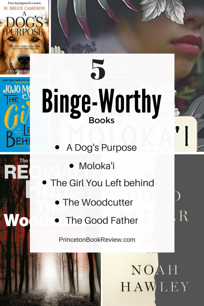 5 Books for Binge Reading