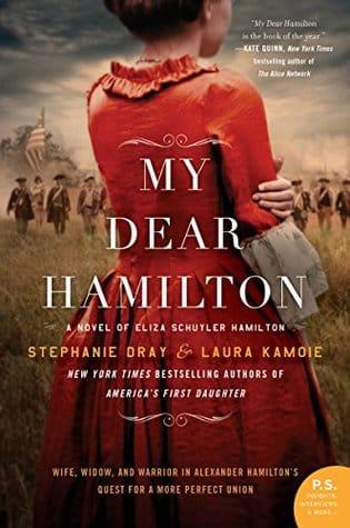 What should I read next -book cover my dear Hamilton