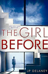 Book review - The Girl Before by JP Delaney