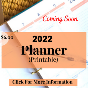 Reading & Lifestyle Planner Printable